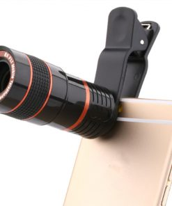 8x Zoom Mobile Phone Telescope Clip Lens for Cell Phone Optical Lens Magnifier