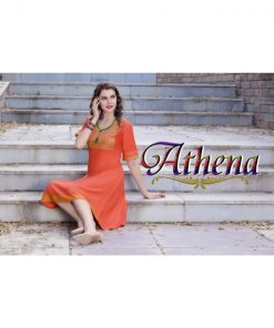 Rs 310 Pc Athena Stitched Kurti Wholesale Catalog 10 pcs