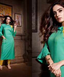 Rayon Crafted Festive/Party Kurtis