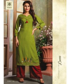 Rs 650 Pc Kiana Floret Kurti With Bottom Wholesale Catalog 10 pcs