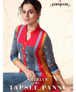 Rs 799 Piece - RANGOON SHERLYN BY TAAPSEE PANNU Stitched Kurti Wholesale Catalog 08 pcs