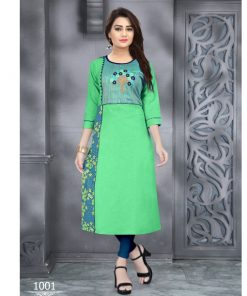 Rs 475 Piece - Radhi volume 2 Stitched Kurti Wholesale Catalog 09 pcs