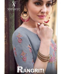 Rs 1275 Pc Rangriti Gown Style Kurti Wholesale Catalog 08 pcs