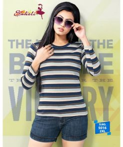 Rs 212 Pc Saheli Wholesale Tshirt Catalog 06 pcs