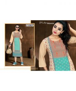 Rs 365 Pc Tannu Vol 2 Stitched Kurti Wholesale Catalog 08 pcs