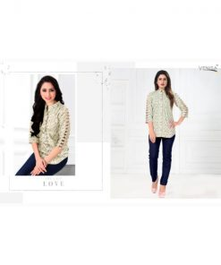 Rs 269 Pc Venisa Karma Wholesale Top Catalog 07 pcs