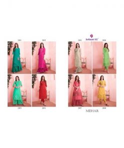 Rs 795 Pc Arihant NX Mehar Wholesale Suit Catalog 08 pcs (Stitched)