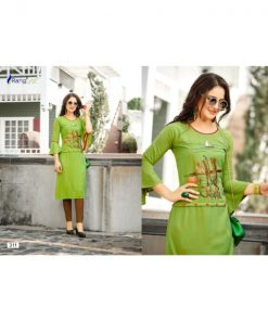 Rs 410 Pc Ishita Vol 3 Stitched Kurti Wholesale Catalog 12 pcs