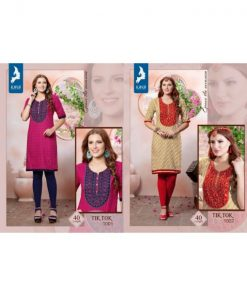 Rs 340 Pc Kaya Tik Tok Stitched Kurti Wholesale Catalog 08 pcs