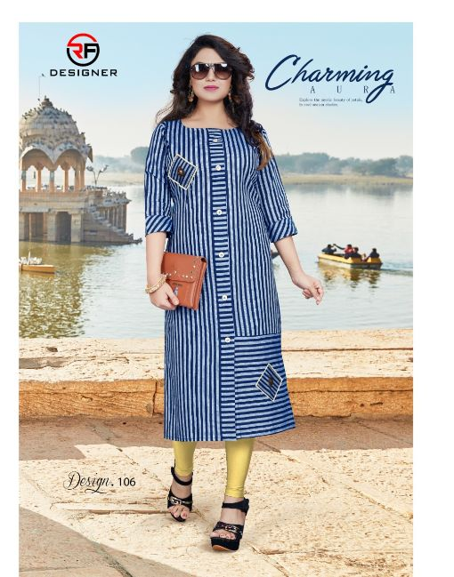 Rs 387 Pc Pihu Stitched Kurti Wholesale Catalog 06 pcs