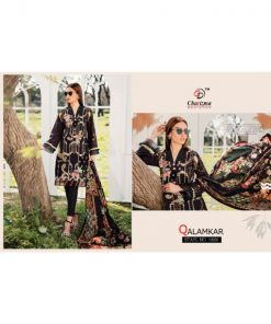 Rs 949 Pc Qalamkar Wholesale Suit Catalog 04 pcs (Unstitched)