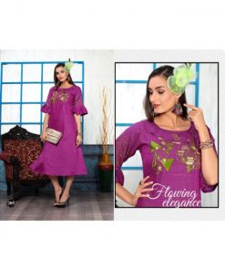 Rs 355 Pc Raanisa Vol 2 Stitched Kurti Wholesale Catalog 10 pcs