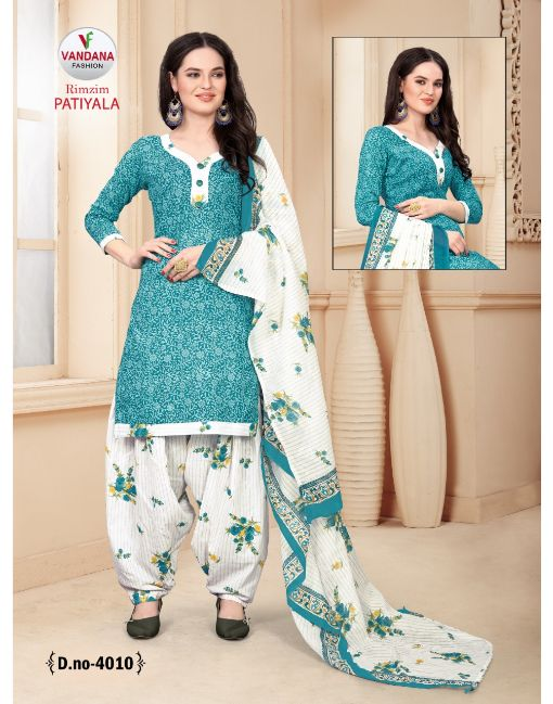 Rs 320 Pc Rimzim Patiyala Vol 4 Wholesale Suit Catalog 12 pcs (Unstitched)