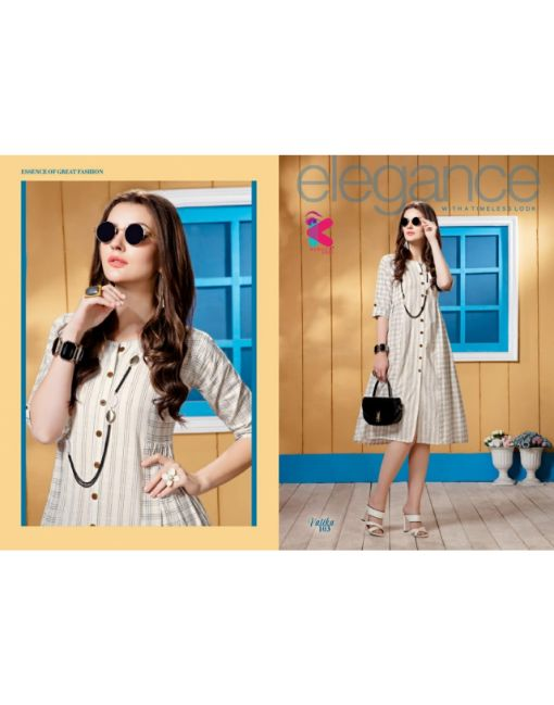 Rs 512 Pc Vatika Stitched Kurti Wholesale Catalog 10 pcs