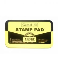 Camlin Stamp Pad No-1 Violet (Pack of 5 pcs)