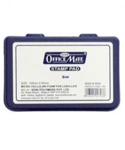 SONI Office Mate Stamp Pad-Blue (Pack of 2)